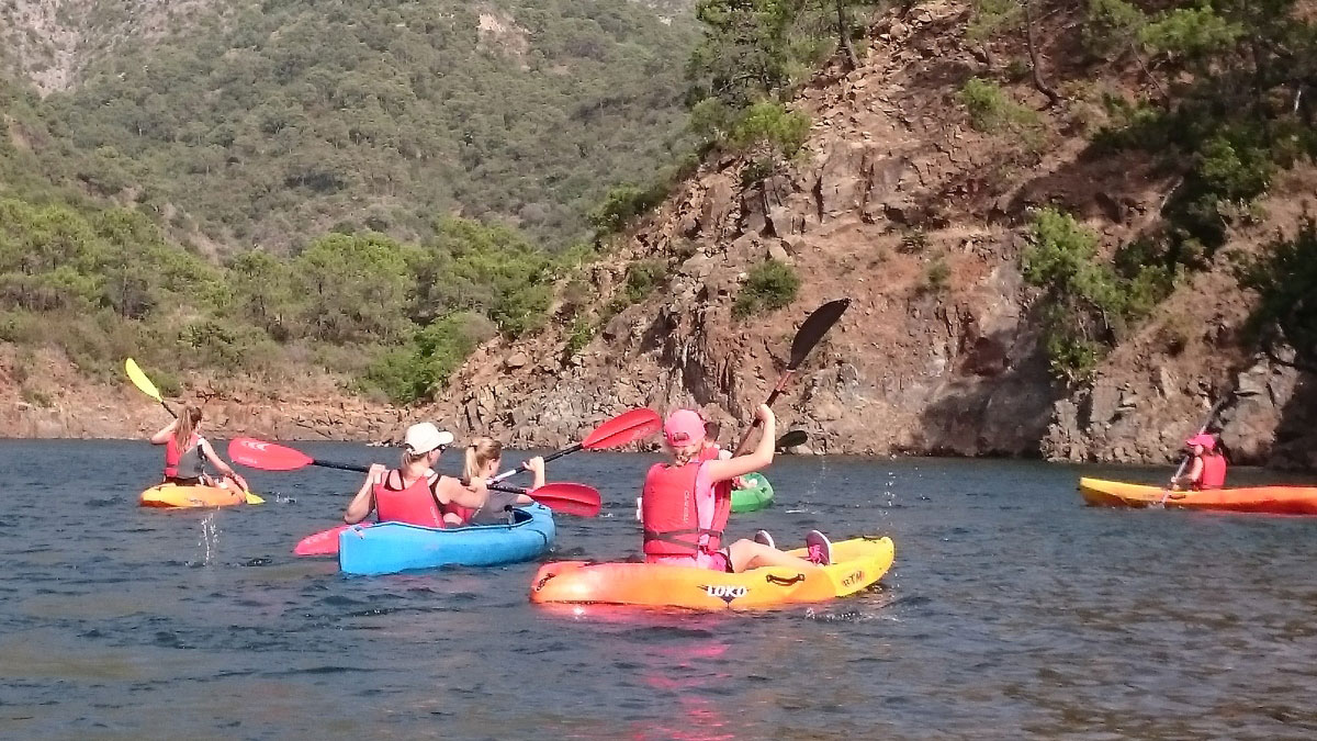 Kayak Marbella mountain lake Kayak and Canoa 03 | Team4you