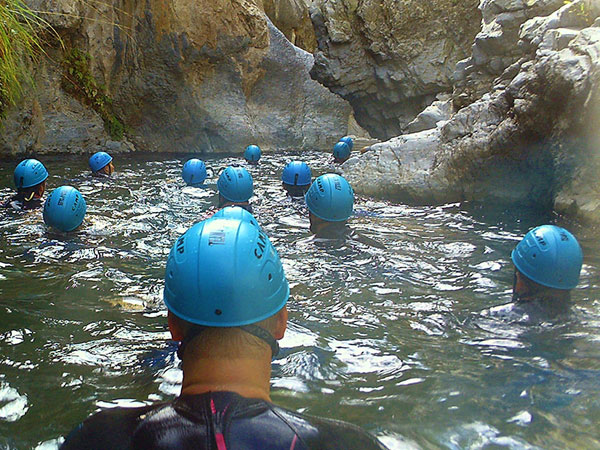 Canyoning Adventure Canyon Descent