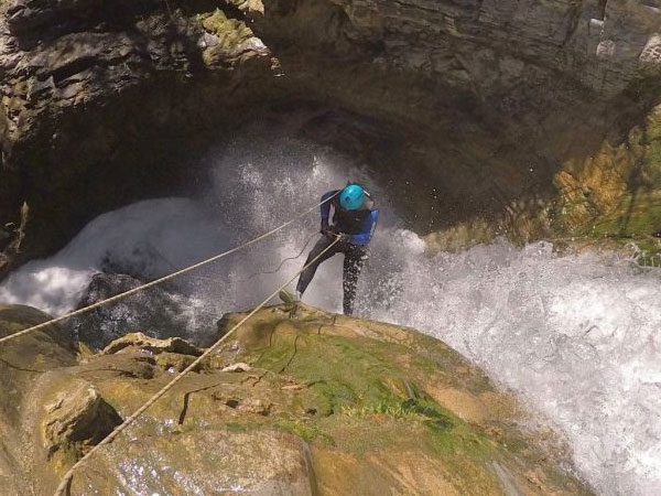 Canyoning Adventure with Team4you