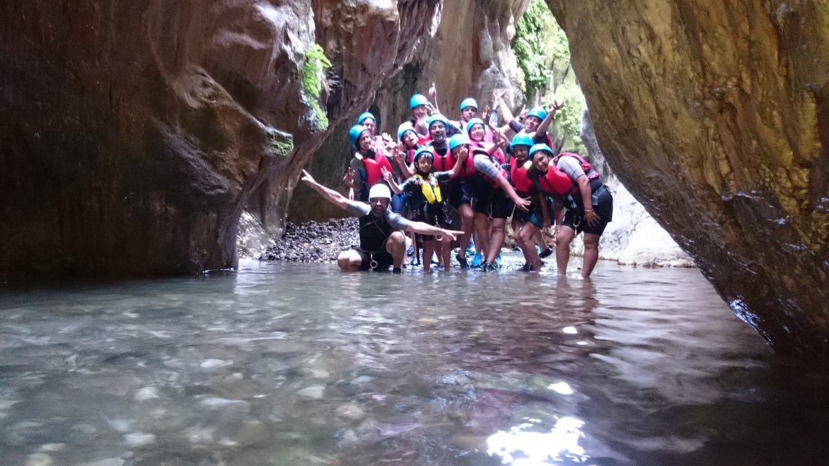 CANYONING Marbella Canyoning Adventure in Benahavis, the River Guadalmina situated only a few kilometers inland from Marbella. | Team4You
