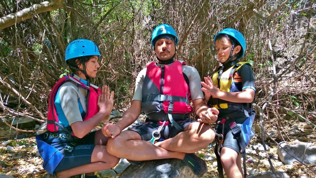 CANYONING Marbella Canyoning in Guadalmina River, Costa del Sol best location to familiarise yourself with nature. | Team4You