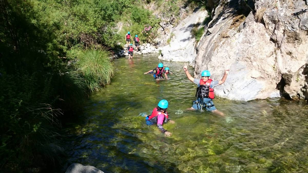 CANYONING Marbella Canyoning down the River of Guadalmina is an exceptional experience for the whole family. | Team4You