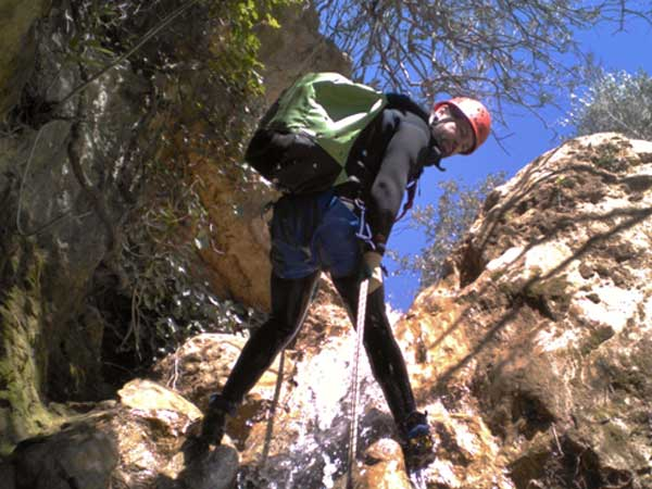 CANYONING LEVEL 0 Canyoning with the abseils and waterfalls you can handle 01 | Marbella Team4you