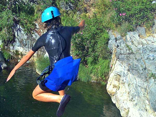 CANYONING A canyon descent through waterfalls, natural waterslides and some wading and swimming 02 | Marbella Team4you
