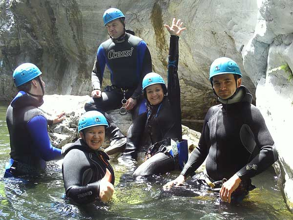 CANYONING LEVEL 0 Canyoning with the abseils and waterfalls you can handle 05 | Marbella Team4you