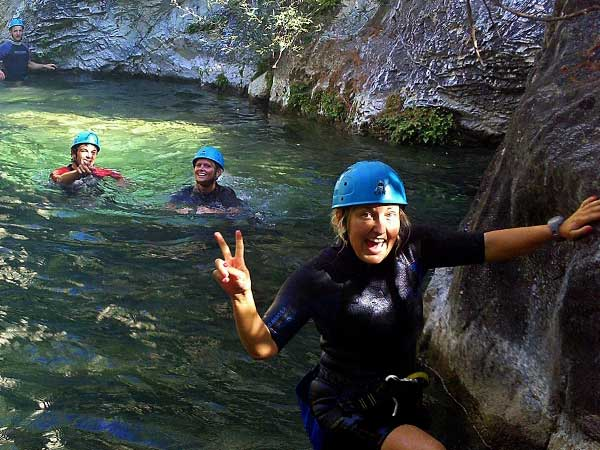 CANYONING LEVEL 0 Canyoning with the abseils and waterfalls you can handle 06 | Marbella Team4you