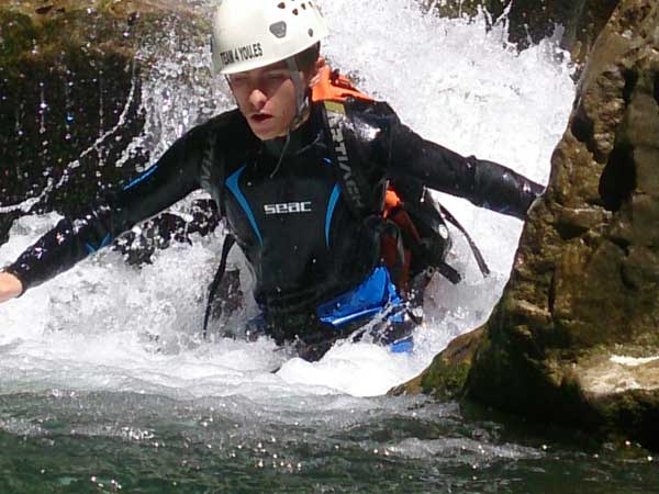 CANYONING LEVEL 0 Canyoning with the abseils and waterfalls you can handle 07 | Marbella Team4you