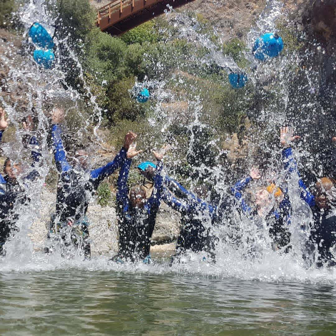 CANYONING LEVEL 1 Canyon descent through waterfall and natural waterslides 01 | Marbella Team4you