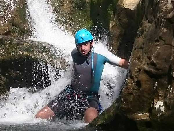 CANYONING A canyon descent through waterfalls, natural waterslides and some wading and swimming 11 | Marbella Team4you