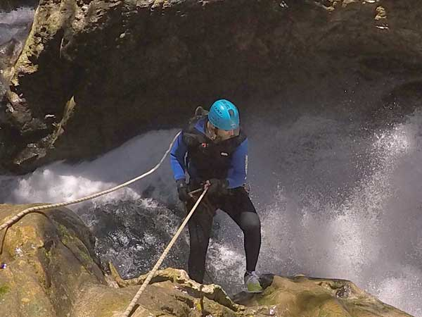 Canyoning Gorge Descent Marbella