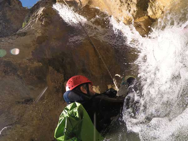 CANYONING LEVEL 2 Canyoning or Gorge Descent 07 | Marbella Team4you