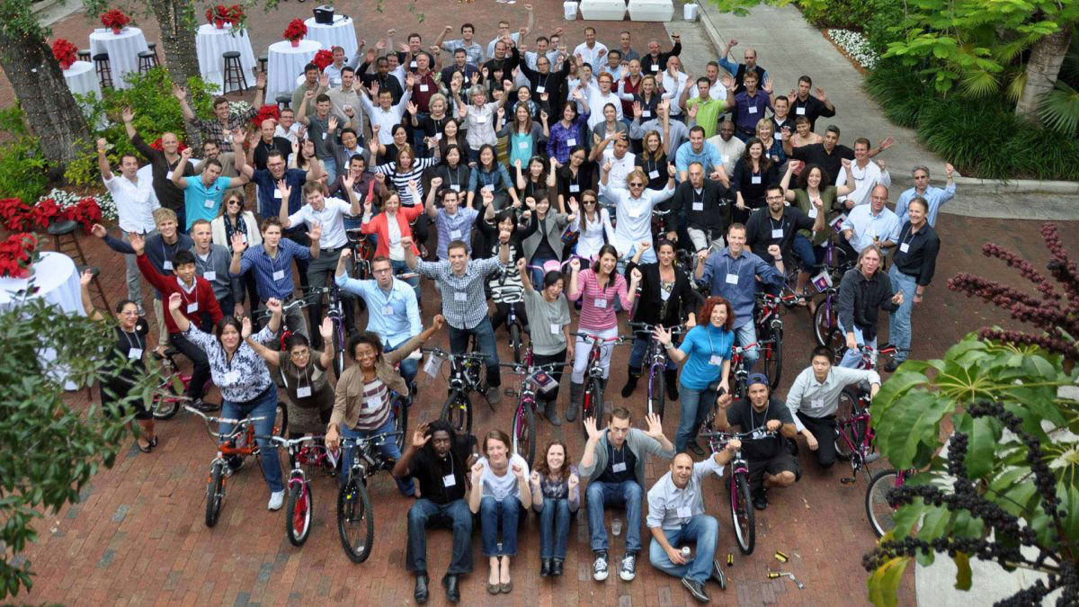 CHARITY BIKE BUILD Marbella Teams construct the ultimate human-powered child's bike 03 | Team4you