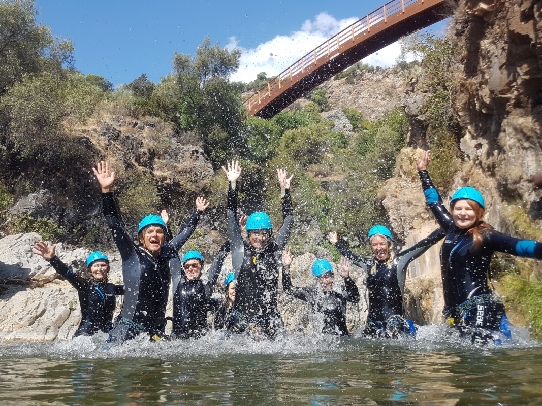 CANYONING Corporativo  01 | Marbella Team4you