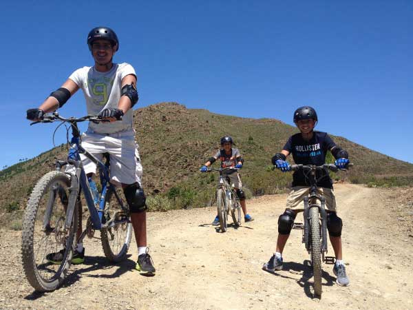 DOWNHILL MTB Málaga Costa del Sol guided mountain bike adventure 02 | Team4you