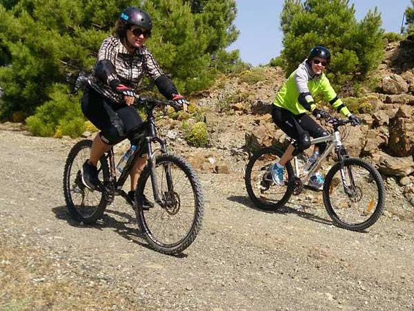 DOWNHILL MTB Málaga Costa del Sol guided mountain bike adventure 05 | Team4you