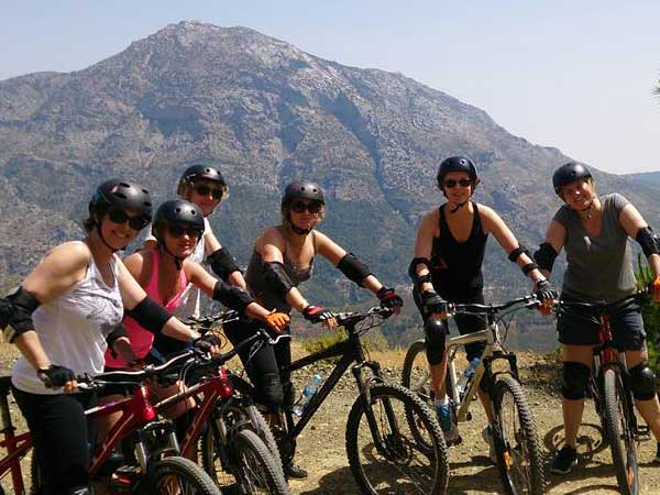 DOWNHILL MTB Málaga Costa del Sol guided mountain bike adventure 07 | Team4you