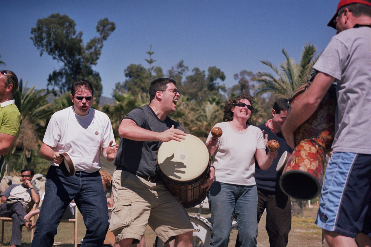 DRUM CIRCLE BATUCADA SESSION A classic group drumming and percussion exercise. 03 | Marbella Team4you