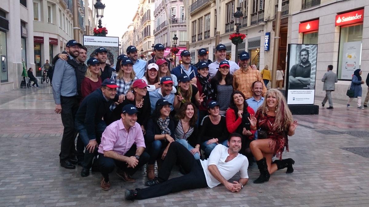 FLASH MOB Málaga Costa del Sol popular dance event 02 | Team4you