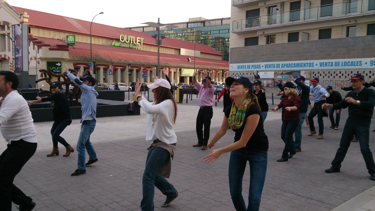 FLASH MOB Most innovative and effective team building 06 | Marbella Team4you