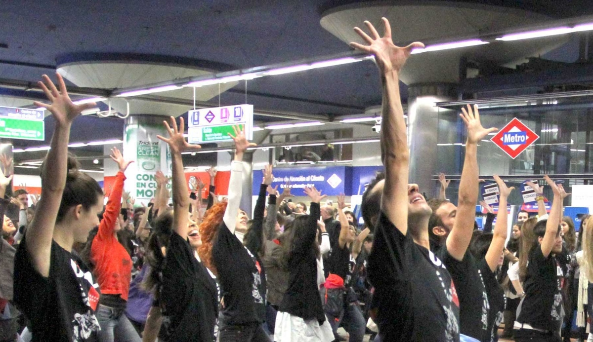 FLASH MOB Most innovative and effective team building 07 | Marbella Team4you