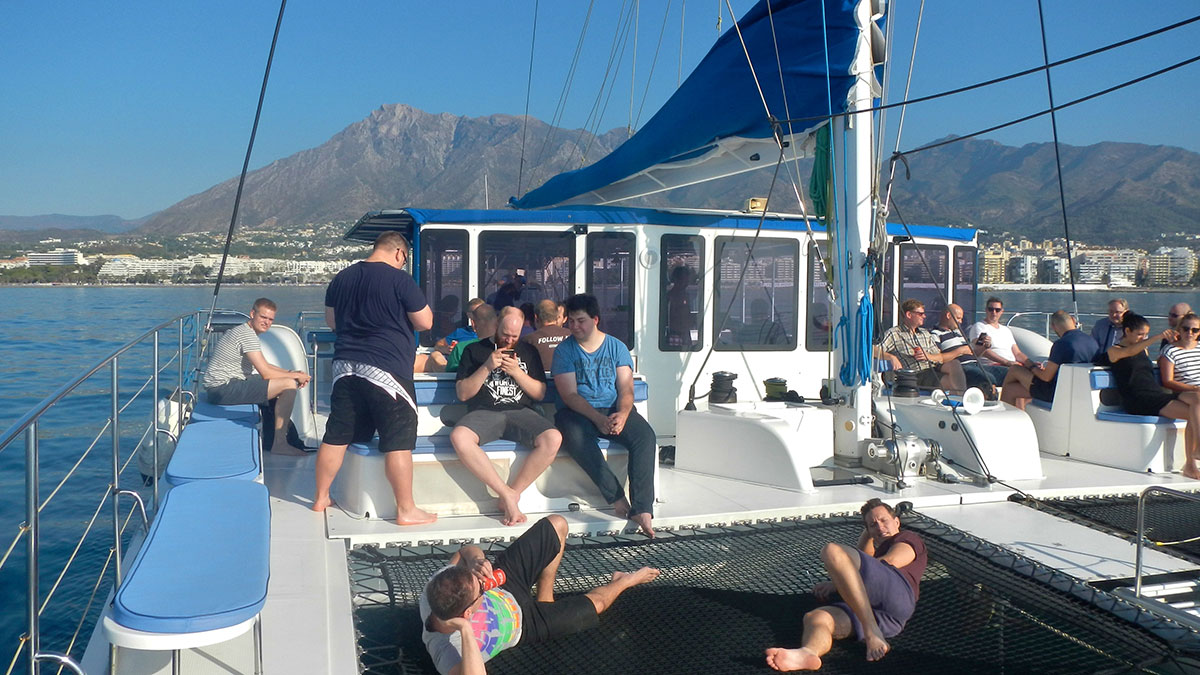 GROUP BOAT TOURS Marbella Catamaran tour along the Costa del Sol 02 | Team4you