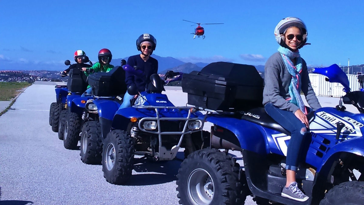 Heli Quad Bike Marbella adventure and discover Costa del Sol 01 | Team4you