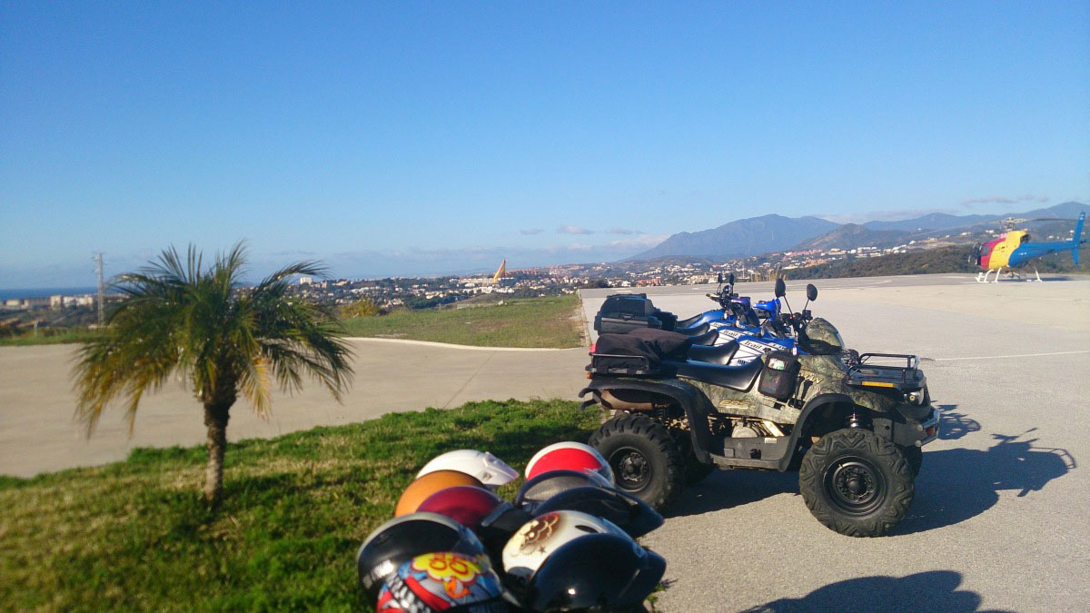 Heli Quad Bike Marbella adventure and discover Costa del Sol 02 | Team4you