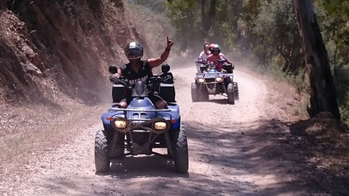 Heli Quad Bike Marbella adventure and discover Costa del Sol 03 | Team4you