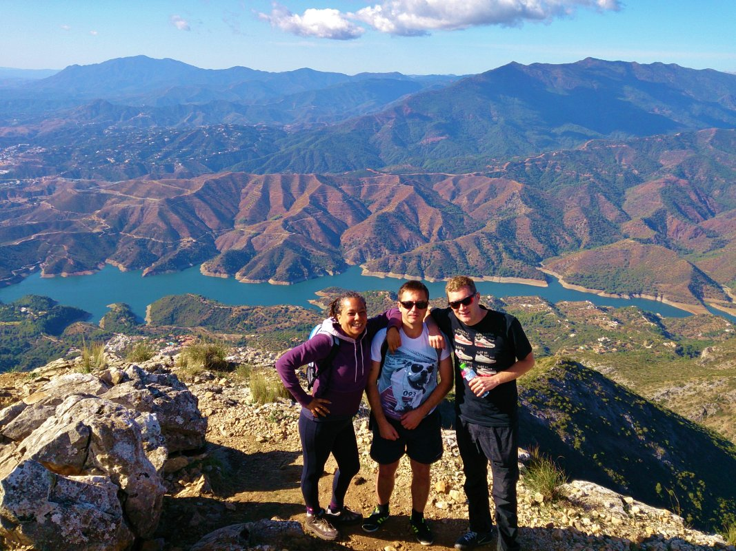 Hiking Trip Marbella La Concha FULL-day walking through great outdoors 02 | Team4you