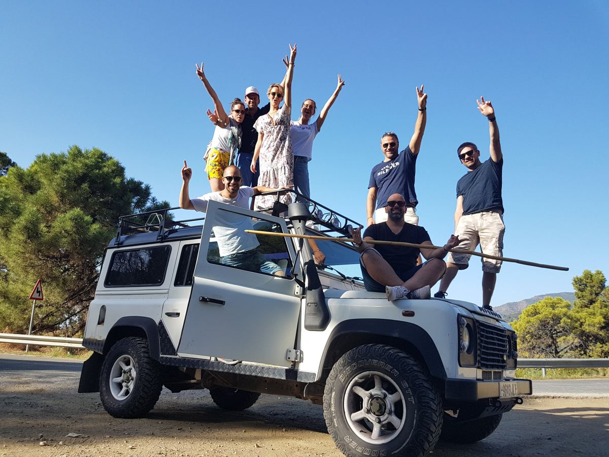 Jeep and Kayak Safari Marbella Sierra de las Nieves 01 | Team4you