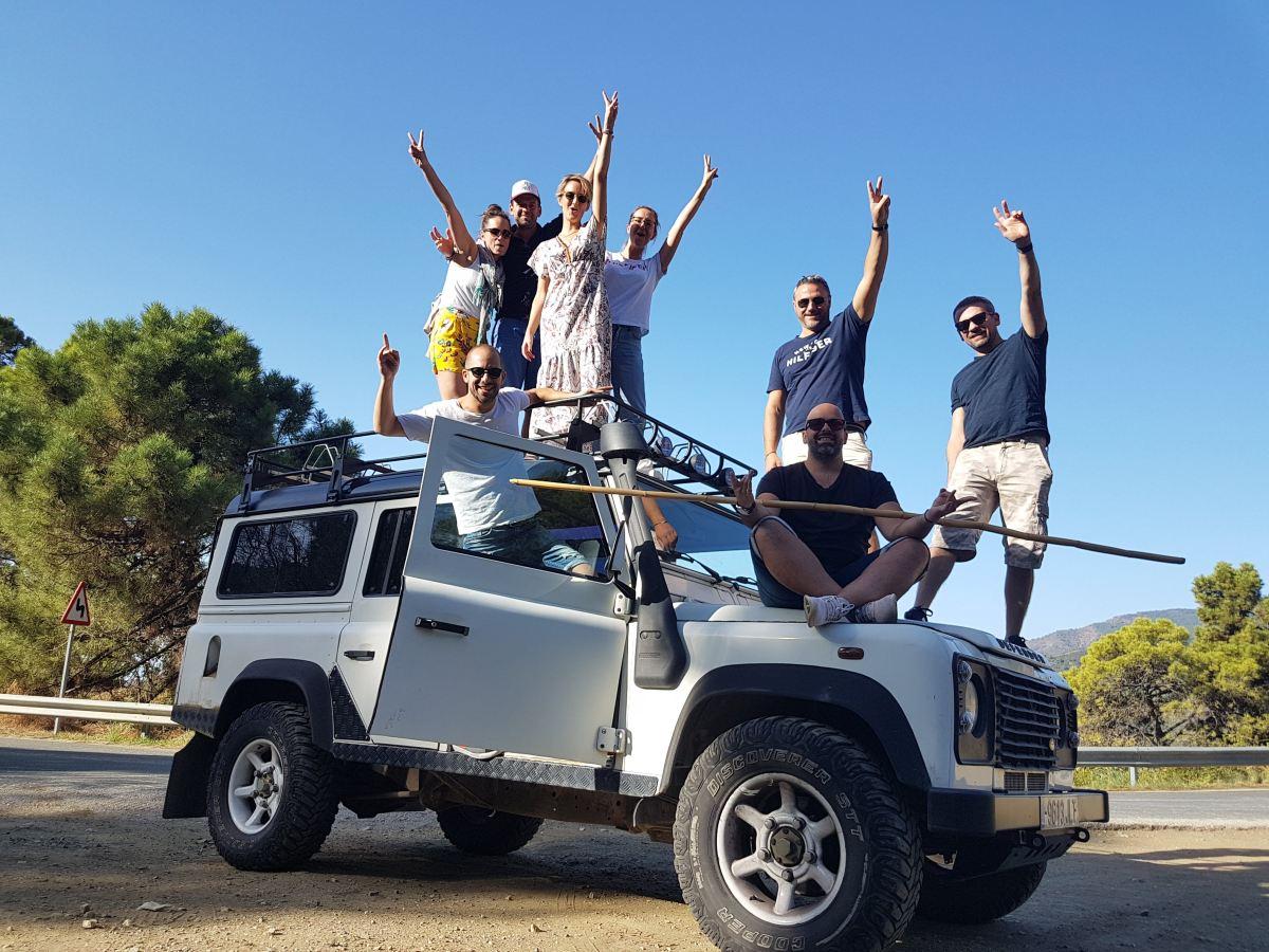 Jeep and Kayak Safari Málaga Costa del Sol Sierra de las Nieves 01 | Team4you