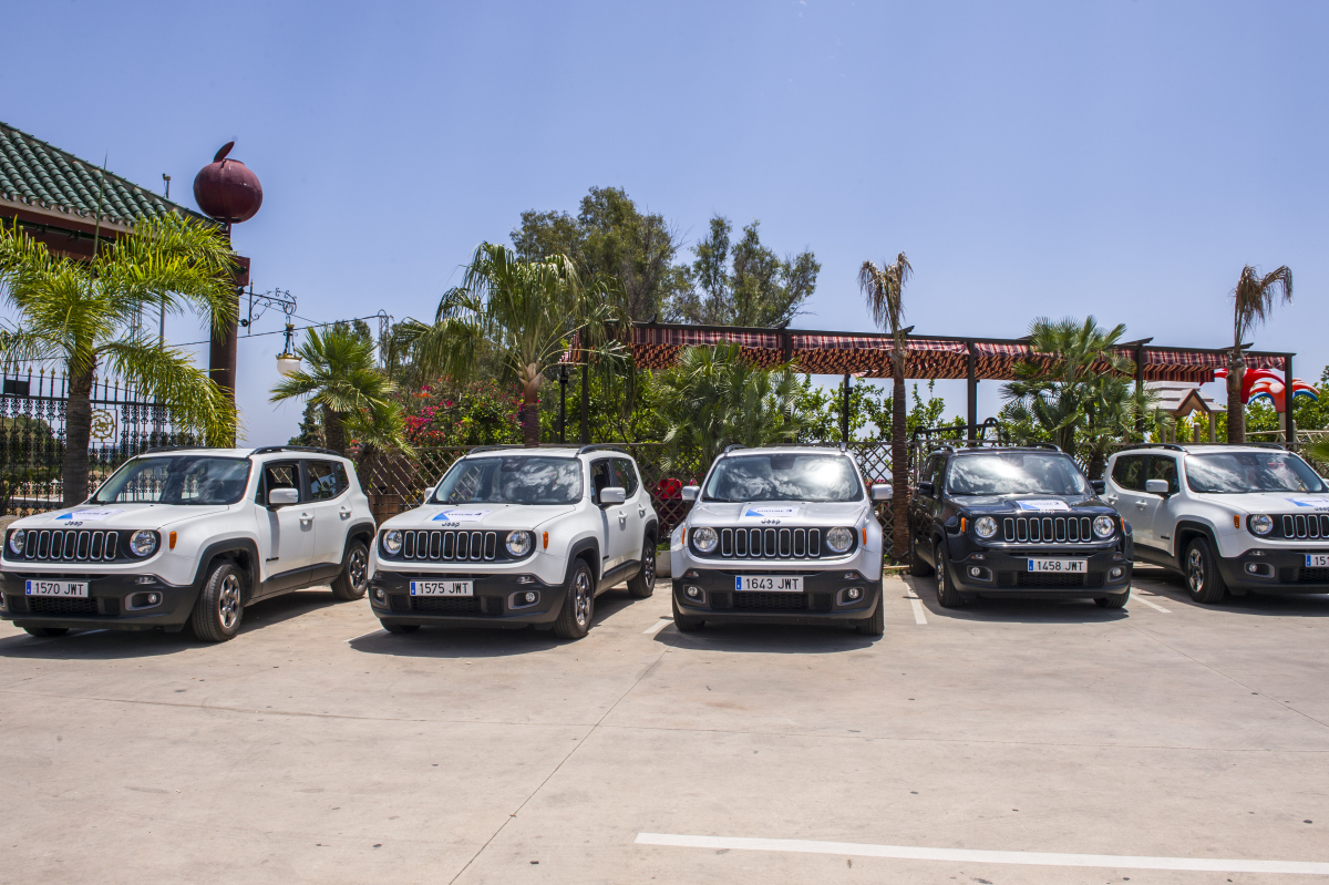 JEEP RALLY 4X4 GPS Teams complete the route through winding mountain trails and back road 02 | Marbella Team4you
