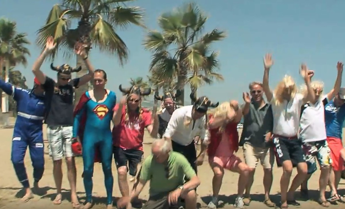 LIP DUB Málaga Costa del Sol do a playback and plan their movements 07 | Team4you