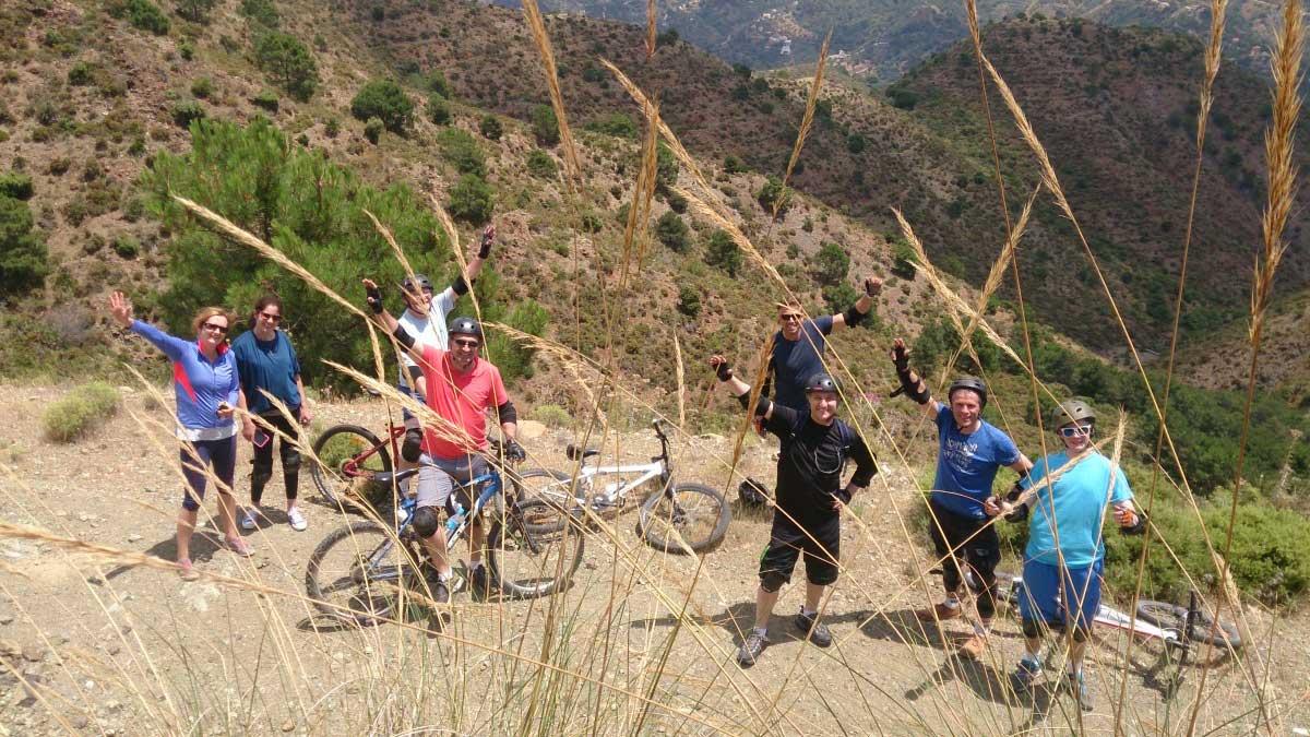 RUTA EN BICICLETAS DE MONTAÑA Marbella  02 | Team4you