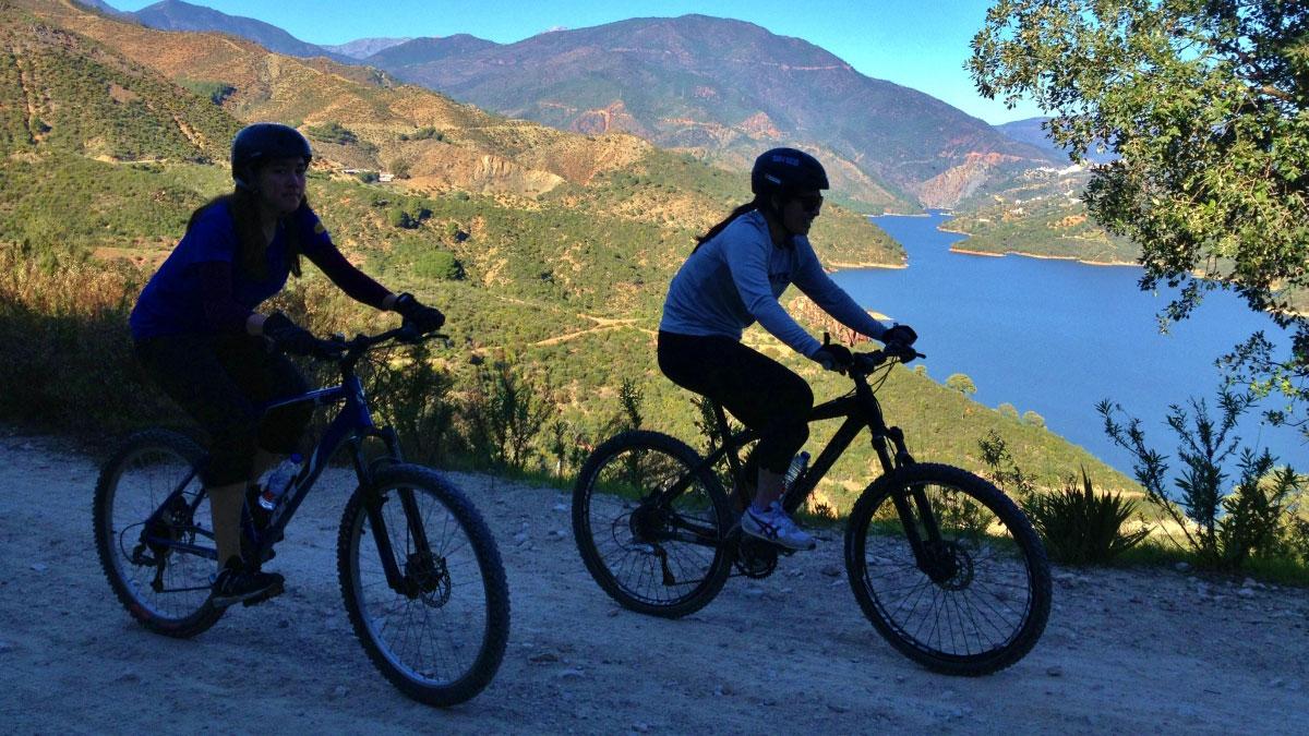 RUTA EN BICICLETAS DE MONTAÑA Marbella  03 | Team4you