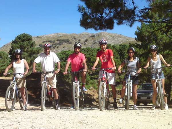 MTB Tour Málaga Costa del Sol Guided Mountain Biking 01 | Team4you