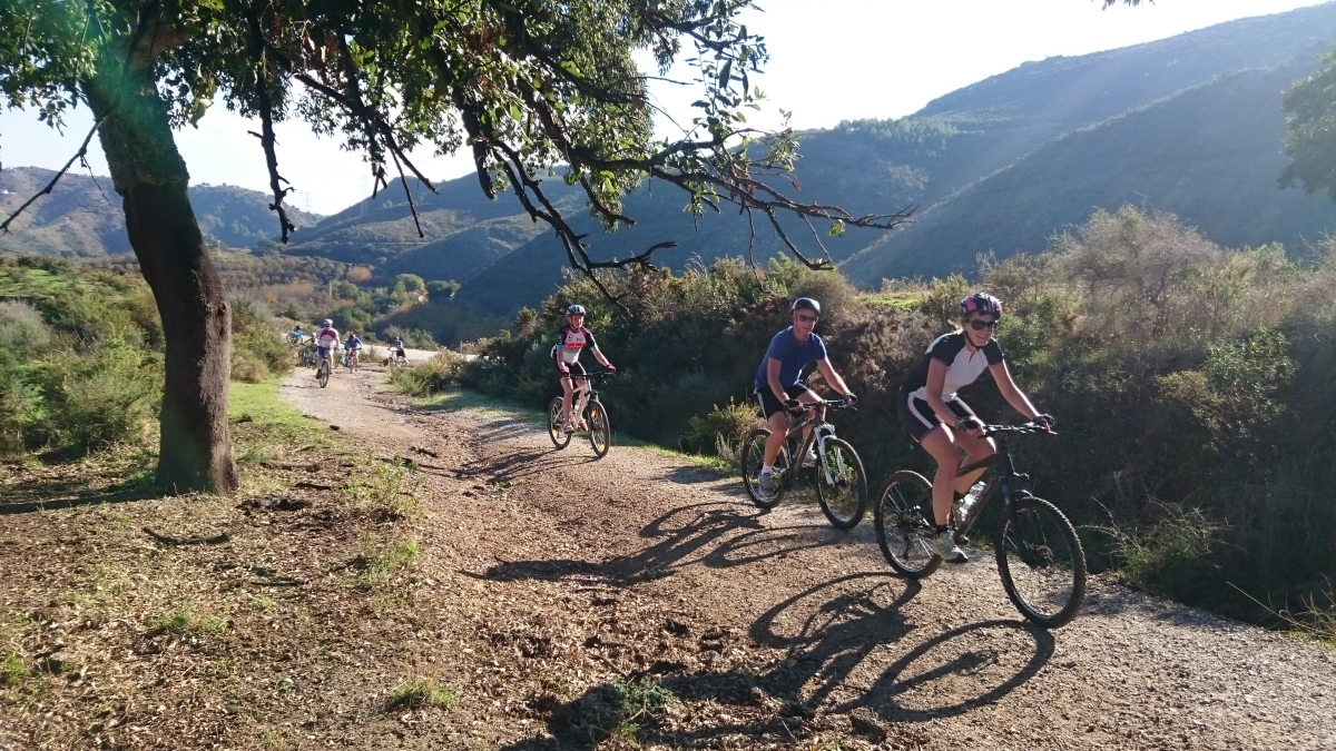 DESCENSO EN BICICLETAS DE MONTAÑA Marbella RUTA EN BICICLETAS DE MONTAÑA 05 | Team4you