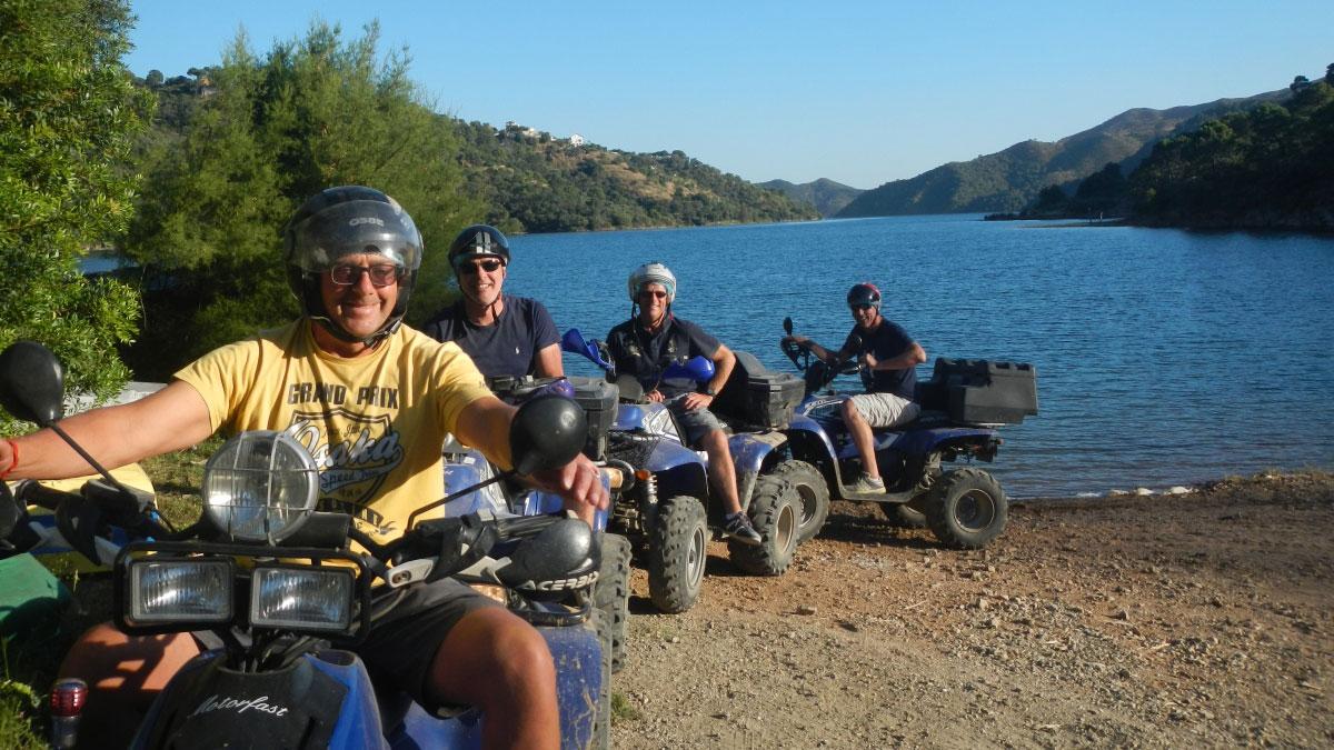 Quad & Kayak Marbella Quad Safari & kayak into Sierra de las Nieves Nature Reserve 01 | Team4you