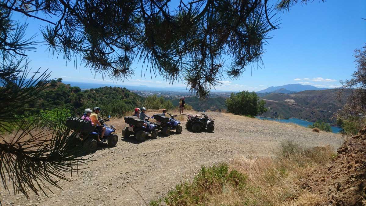 Quad & Kayak Marbella Quad Safari & kayak into Sierra de las Nieves Nature Reserve 02 | Team4you
