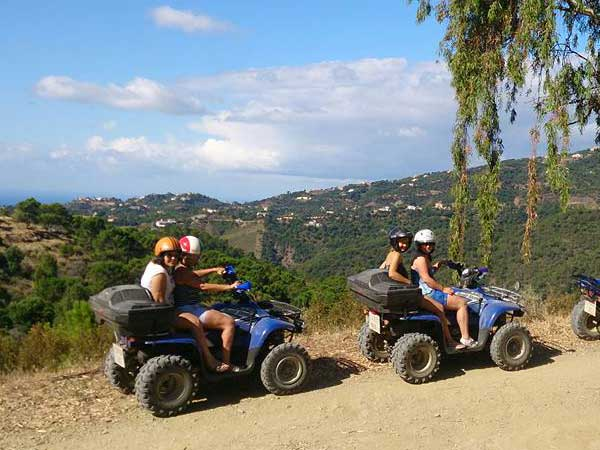 Quad ride Quad off road in the middle of the nature 01 | Marbella Team4you