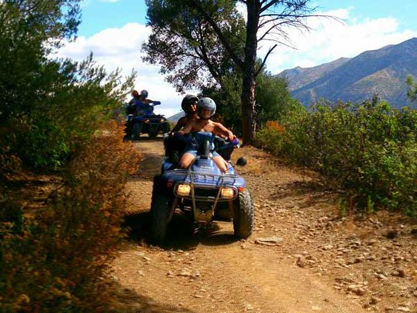 Quad ride Quad off road in the middle of the nature 02 | Marbella Team4you
