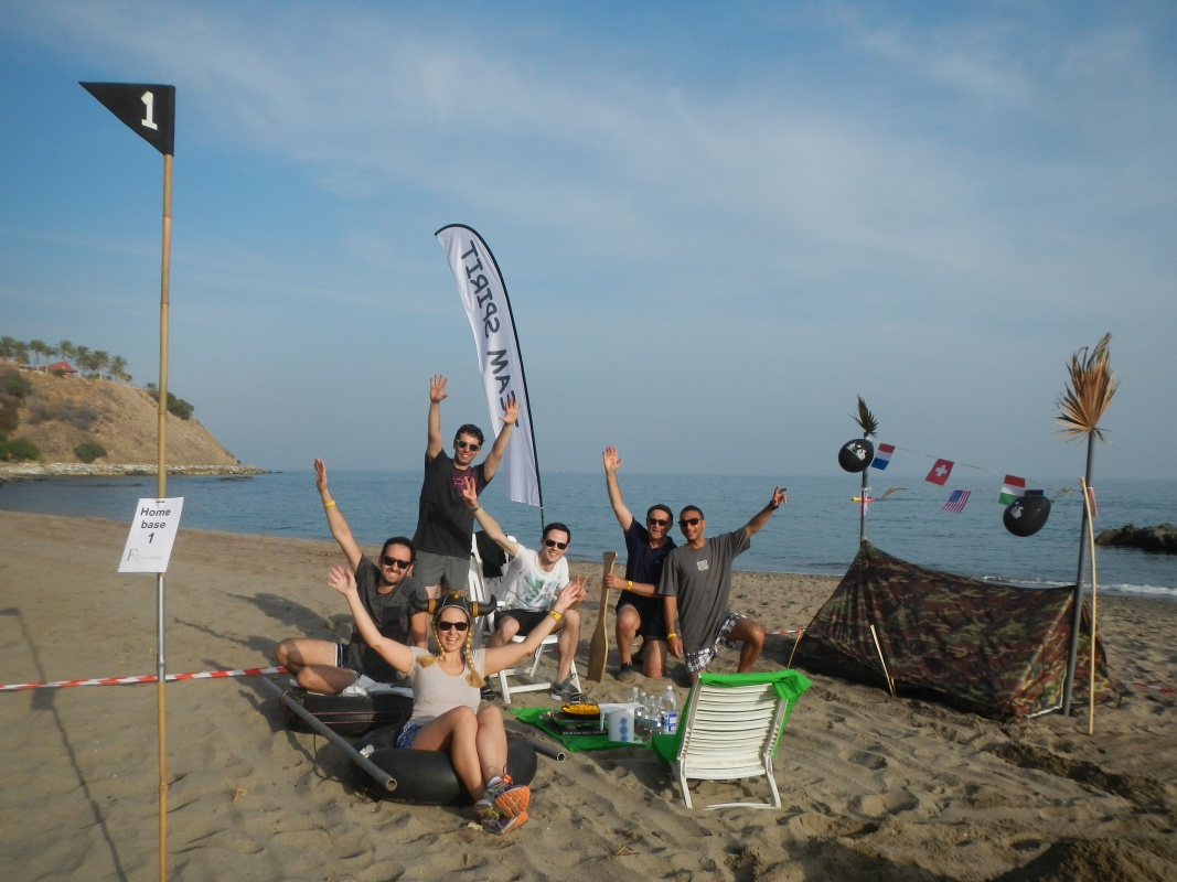 ROBINSON CRUSOE BASECAMP Marbella Construct base camp and complete different feats 05 | Team4you