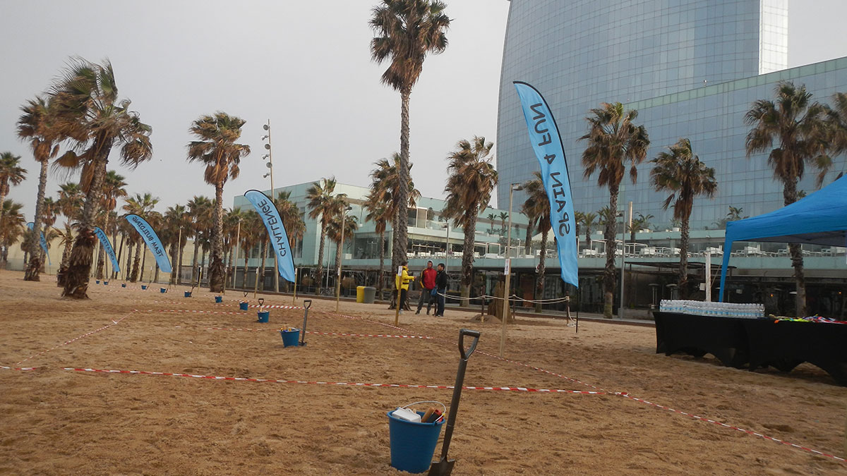 SANDCASTEL CHALLENGE Marbella an intriguing activity at the beach 03 | Team4you