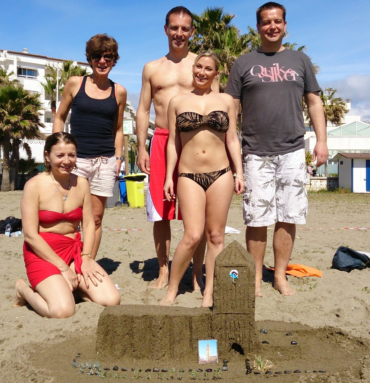 SANDCASTEL CHALLENGE Marbella an intriguing activity at the beach 06 | Team4you