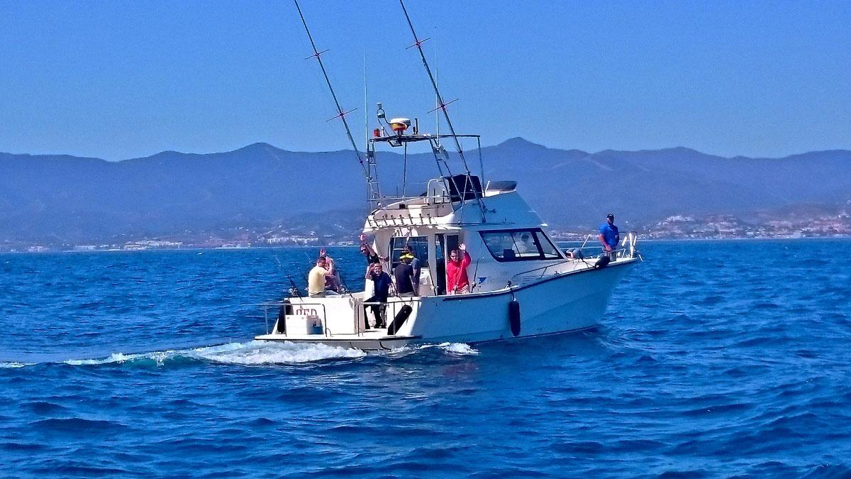 SEA FISHING Marbella deep sea fishing 01 | Team4you
