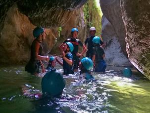 Barranquismo nivel 0 Marbella Turismo Activo
