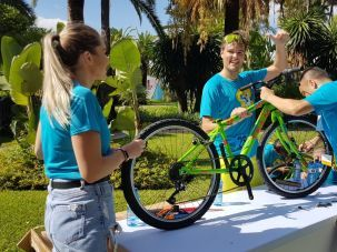 Fabricar una bicicleta benefica Marbella Team building y Eventos corporativos