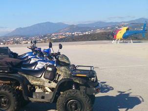 Helicopter & Quad Marbella Outdoor Activities