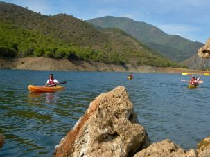 Kayak Marbella Outdoor Activities