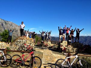 Mountain Biking Marbella Private and Corporate Events